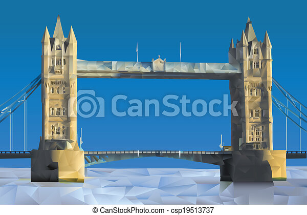 London Bridge - csp19513737