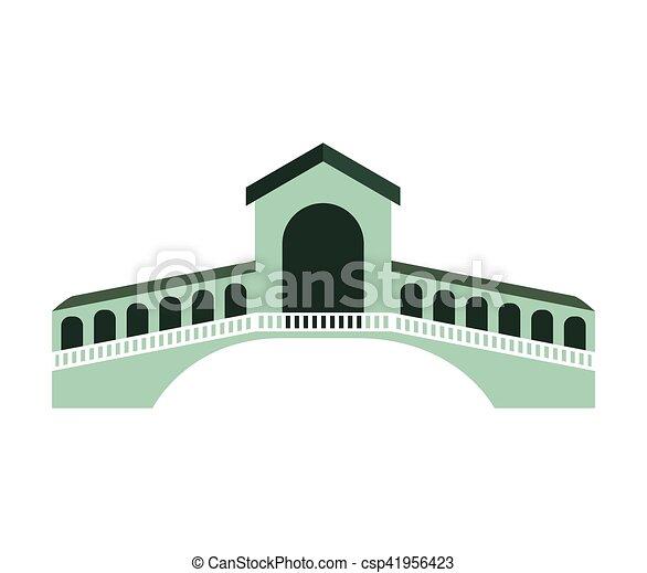 london bridge isolated icon - csp41956423