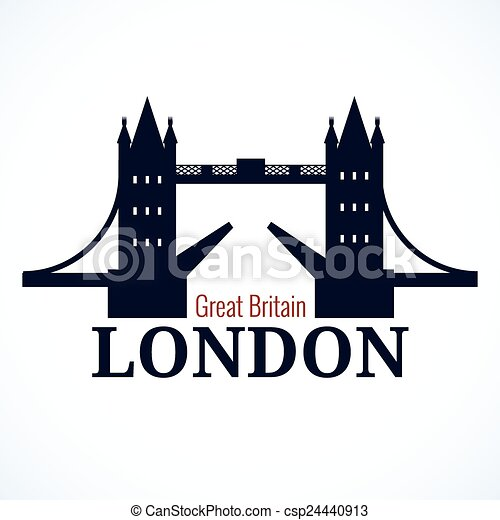 London Bridge Logo - csp24440913