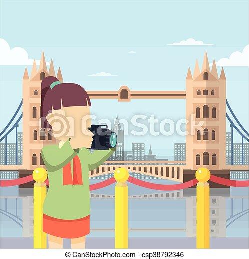 london bridge tour - csp38792346