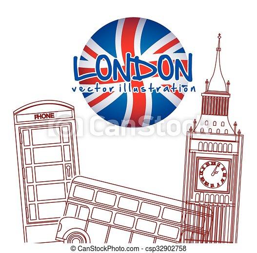 london city design  - csp32902758