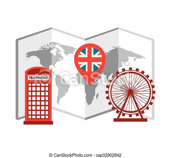 london city design  - csp32902842