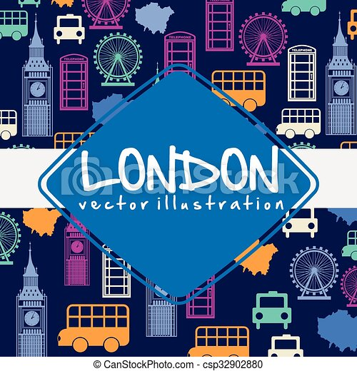 london city design  - csp32902880