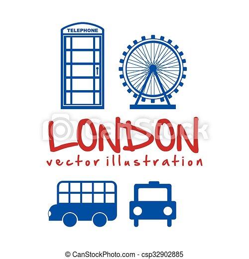 london city design  - csp32902885