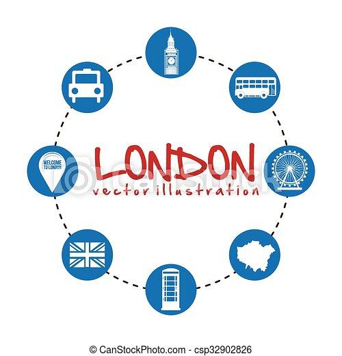 london city design  - csp32902826