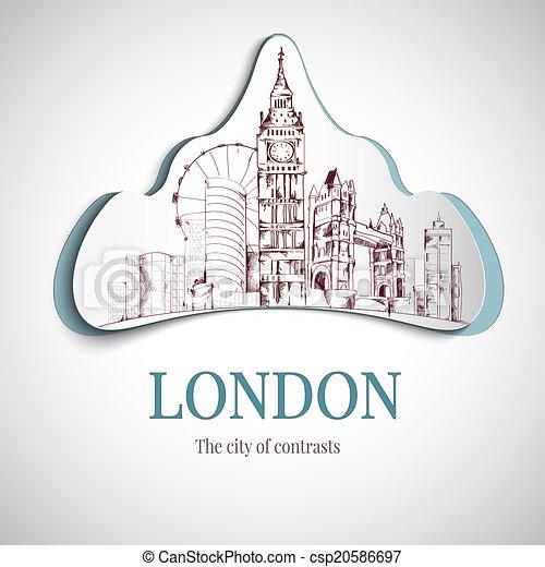 London city emblem - csp20586697