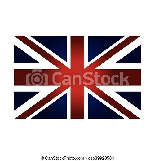 London City Flag Patriotic British Symbol Vector Illustration