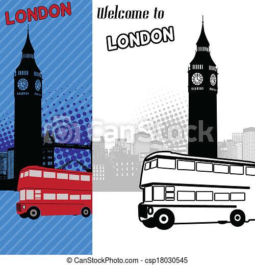 London cityscape - csp18030545