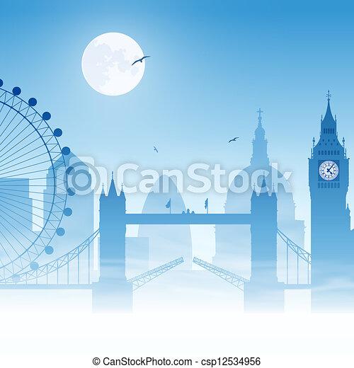 London - csp12534956
