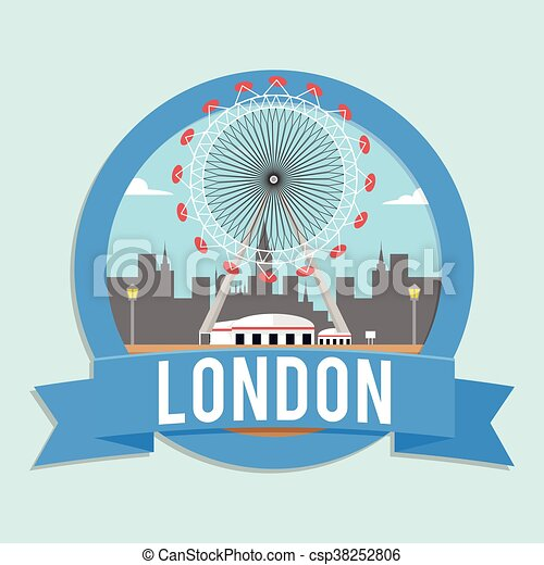London country banner - csp38252806
