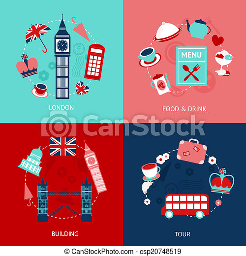 London decorative set - csp20748519