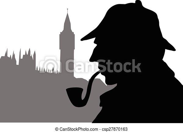 LONDON DETECTIVE - csp27870163