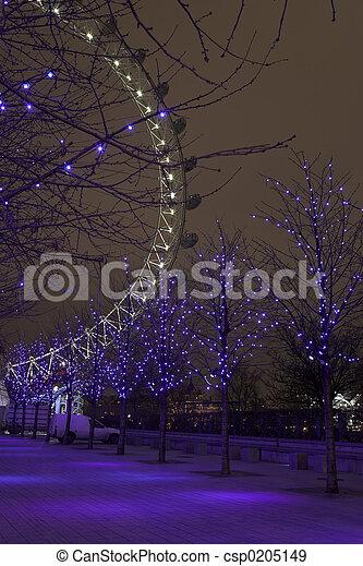 London Eye #2 - csp0205149
