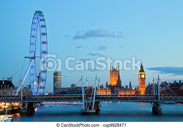 London Eye - csp9928471