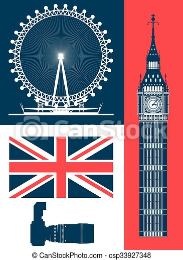 London icon design  - csp33927348