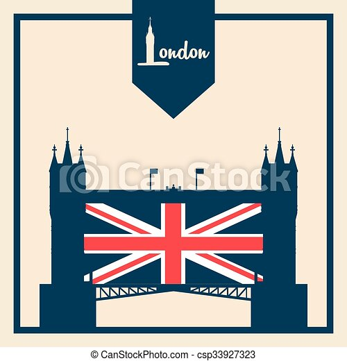 London icon design  - csp33927323