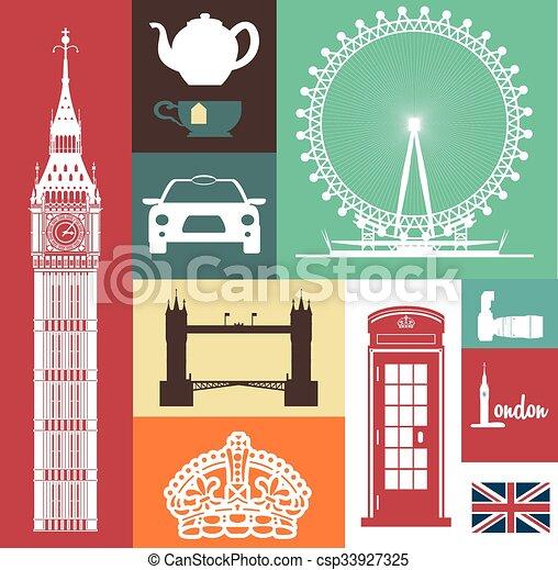London icon design  - csp33927325