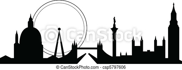 london skyline - csp5797606