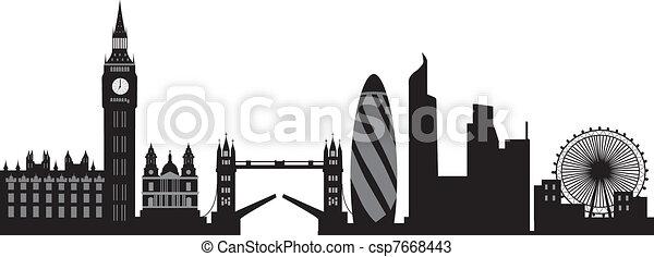 London Skyline Vectors