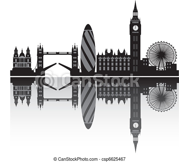 london skyline in detail - csp6625467