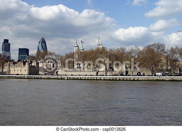 London Skyline - csp0013626