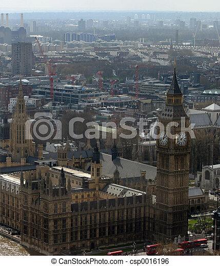 London skyline - csp0016196