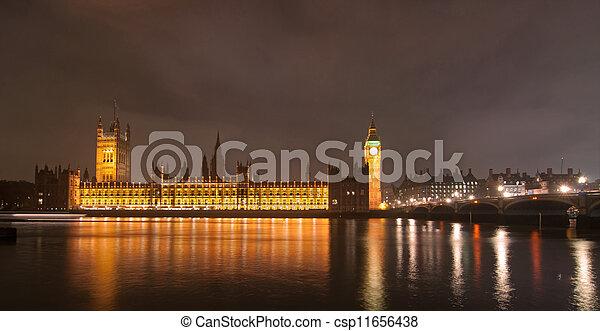 London skyline - csp11656438