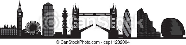 london skyline - csp11232004