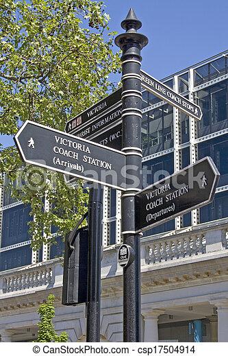 London Street Signpost - csp17504914