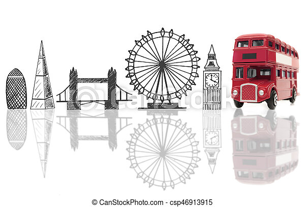 London tourist landmarks - csp46913915