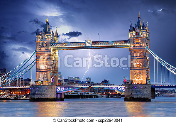 London - Tower bridge - csp22943841
