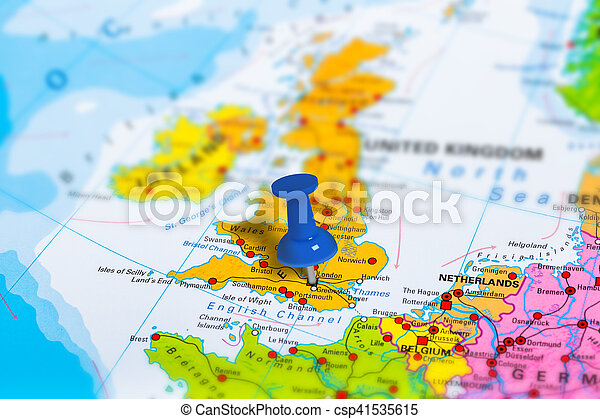 London UK map