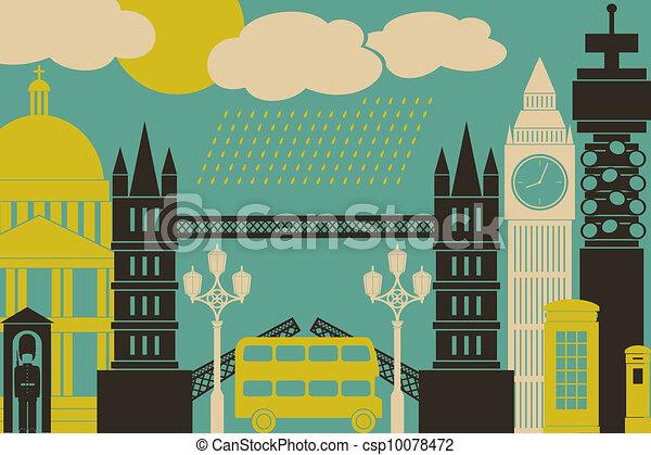 London View - csp10078472