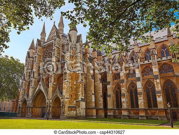 London Westminster Abbey St Margaret Church - csp44310627