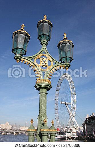 Londres - csp4788386