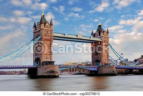 Londres Tour Pont Royaume Uni