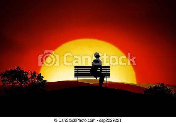 Loneliness - csp2229221
