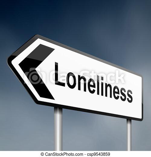 Loneliness - csp9543859