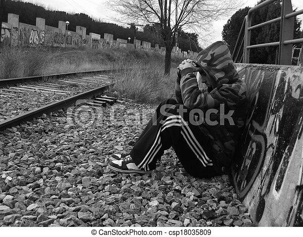 loneliness - csp18035809
