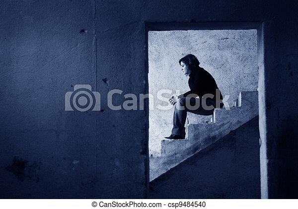 loneliness - csp9484540