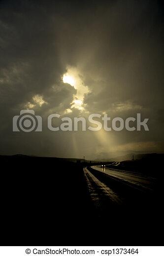 Lonely Road - csp1373464