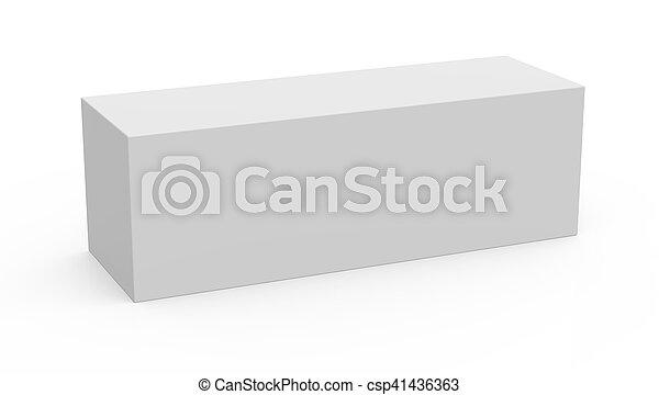 Long Box Template Model