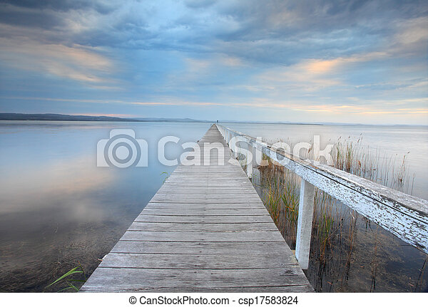 Long Jetty Serenity, Australia - csp17583824