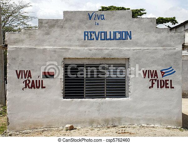 Long live the Revolution! - csp5762460