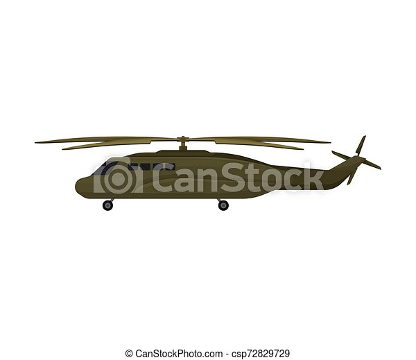 long military helicopter vector illustration on a white background long khaki style military helicopter vector https www canstockphoto com long military helicopter vector 72829729 html