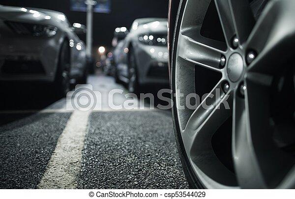 Long Term Car Parking - csp53544029