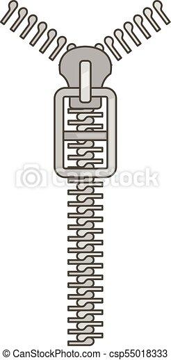 Long Zip Icon Cartoon Style Long Zip Icon Cartoon Illustration Of Long Zip Vector Icon For Web