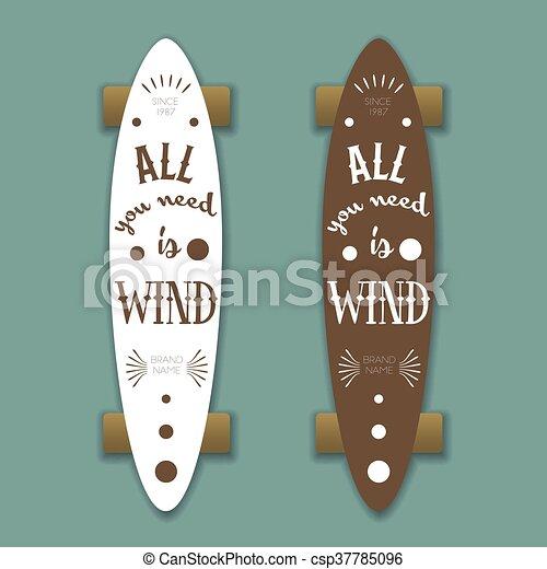 longboard skateboard csp37785096