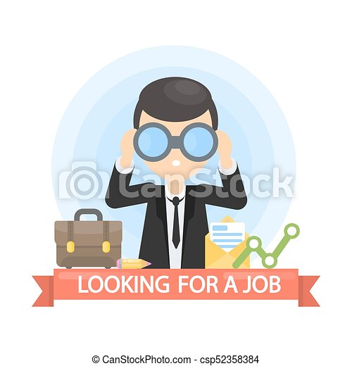 Looking for a job. - csp52358384