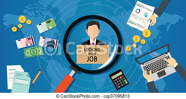 looking for job - csp37095813